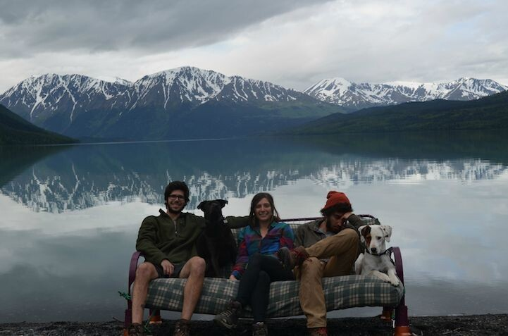 Three Friends, Two Dogs, One Futon: A Lighthearted Road Trip Series