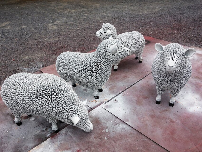 Stunning Scrap Metal Sculptures