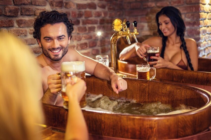 Ever Wanted To Take A Bath In Beer?