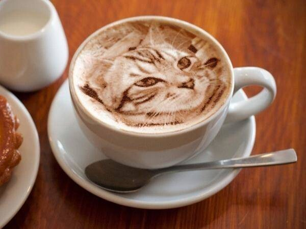 This Latte Art is Far Too Beautiful to Drink.