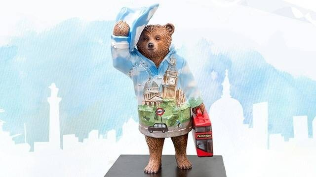 Paddington Bear Overtakes London Sporting Some New Looks