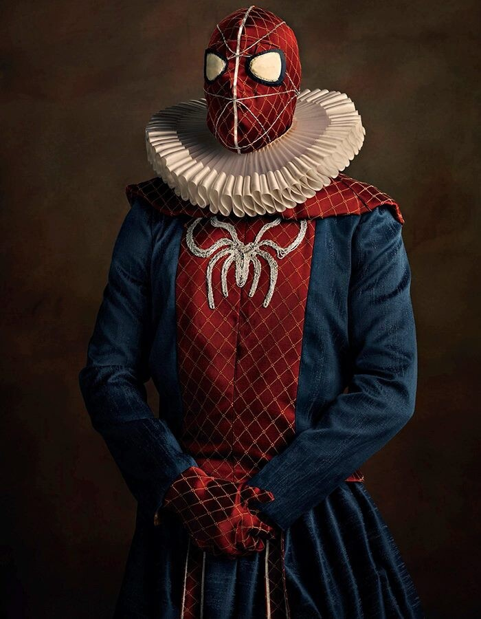 How Would Superheroes Have Looked In The 16th Century?