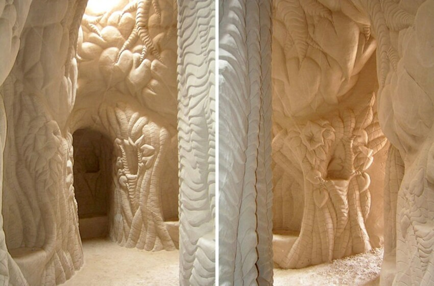 Man Spends 25 Years Hand-Digging Beautiful Caves
