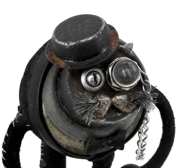 These Charmingly Steampunk Animals Are Created From Scrap Metal