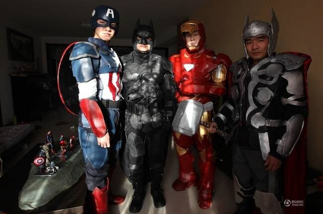 A Creative College Student Built Amazing Super Hero Costumes