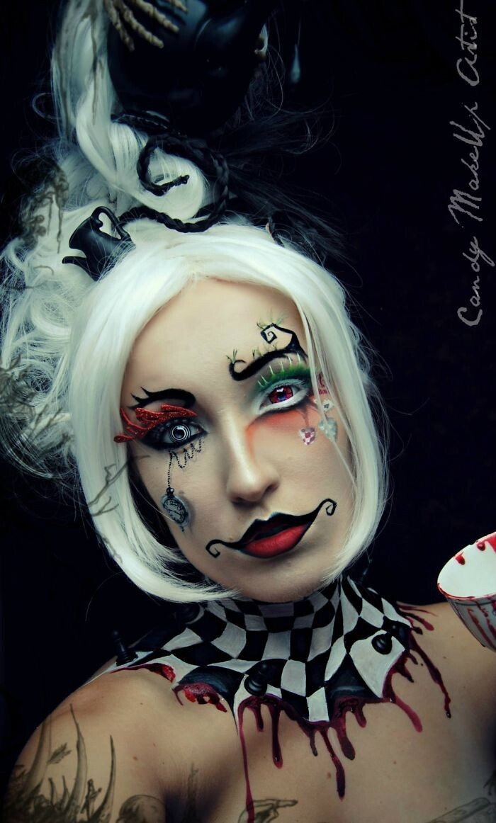 Extreme Make-Up Art Inspired By Dark Fantasy World