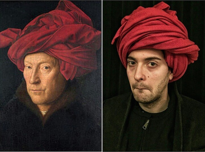 Coworkers Recreate Famous Works of Art
