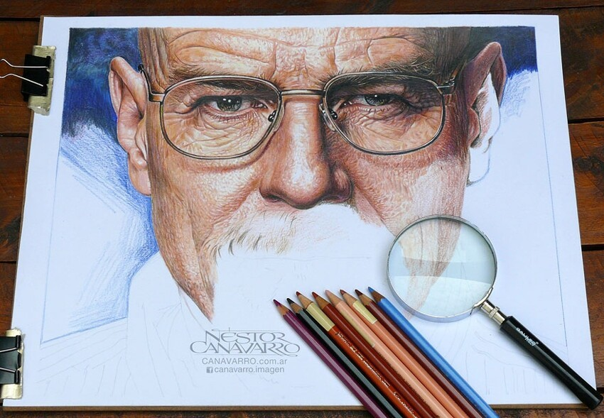 Hyper-Realistic Pencil Drawings Of Celebrities