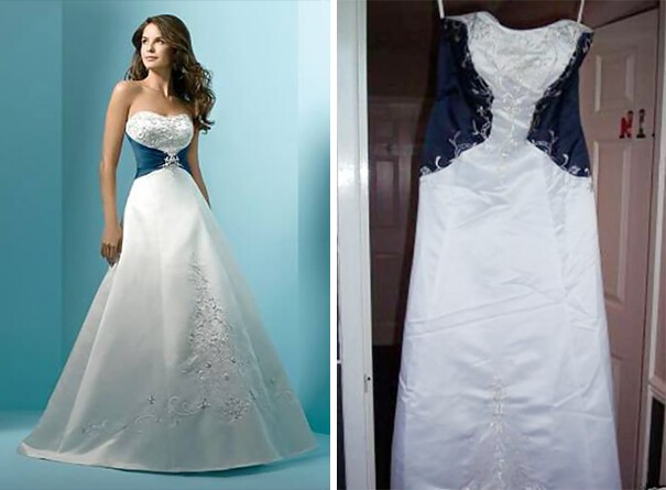 Ads Versus Reality: 14+ Disappointing Wedding Dresses