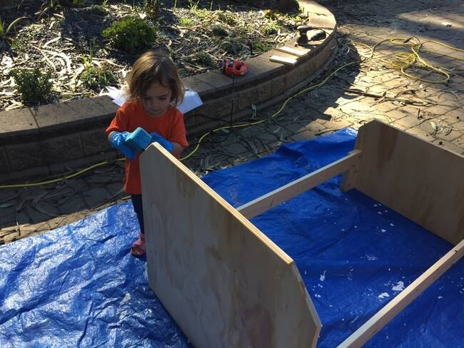 This Father Built His Daughter The Superhero Bed She'd Always Wanted