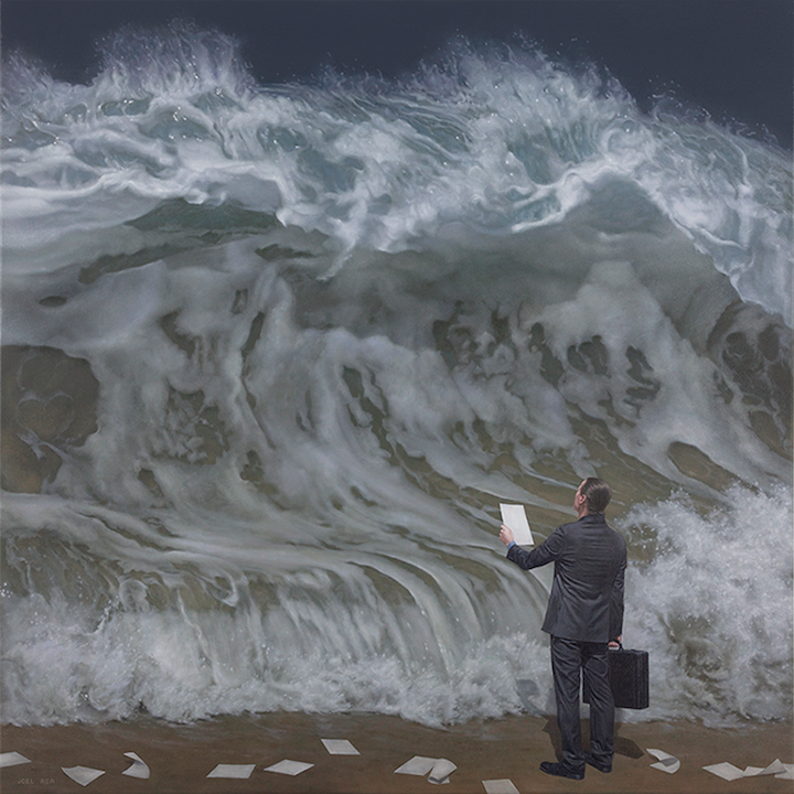 Beautifully Surreal Storm Paintings by Joel Rea