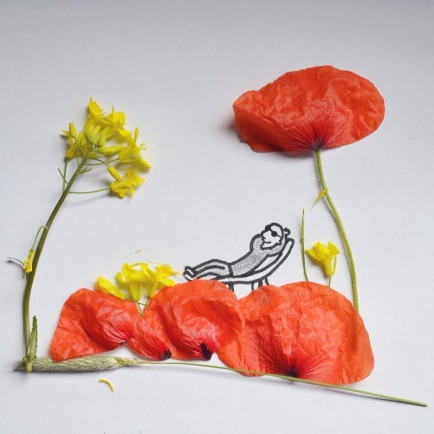 17-Year-Old Artist Creates Interactive Illustrations