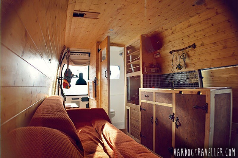 This Guy Turned A Van Into An Apartment And Is Traveling Around Europe