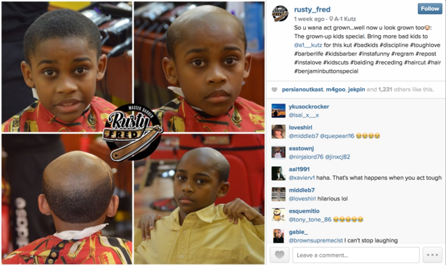 "This Barber Will Give An Old Man ""Haircut"" To Your Misbehaving Child"