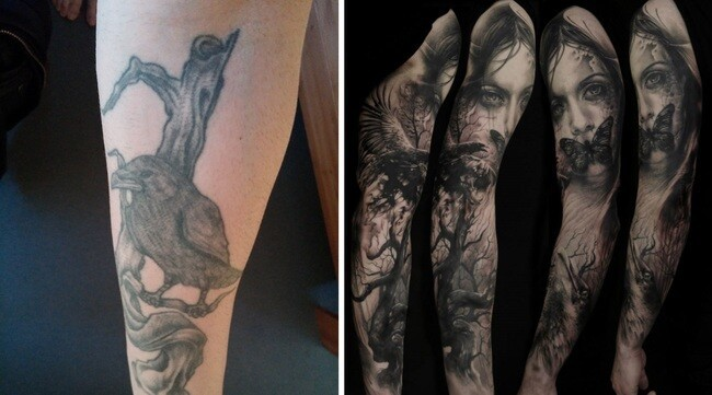 These 24 Jaw-Dropping Bad Tattoo Cover-Ups
