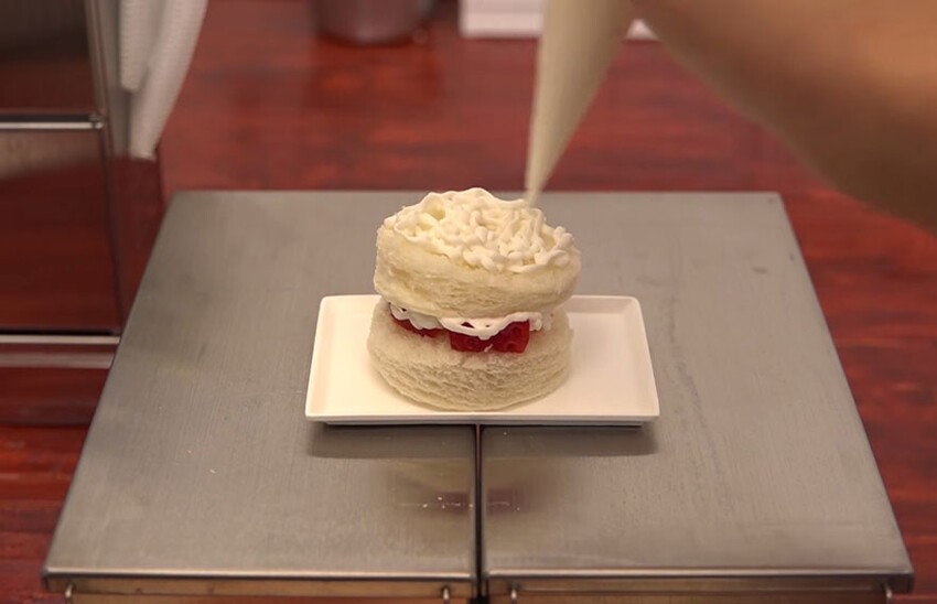 Man Bakes Tiny Cake Using Tiny Tools In A Tiny Kitchen