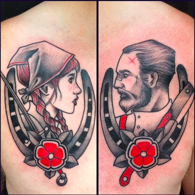 27 Genius Couples Tattoos They Actually Won't Regret When They're Old