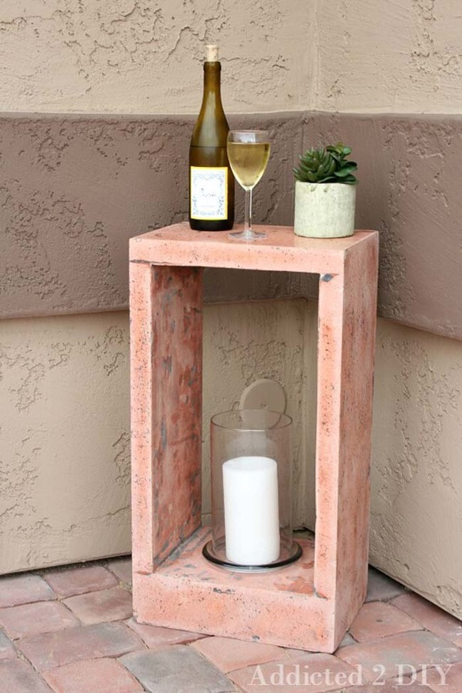 Outdoor or bedside table