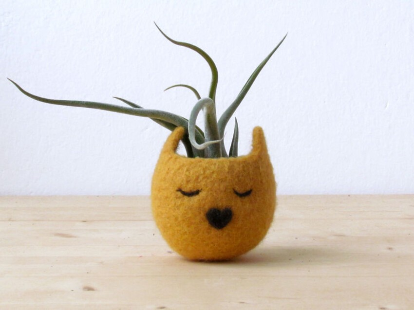 Animalplanters Turn Your Flower Pots Into Cute Animals