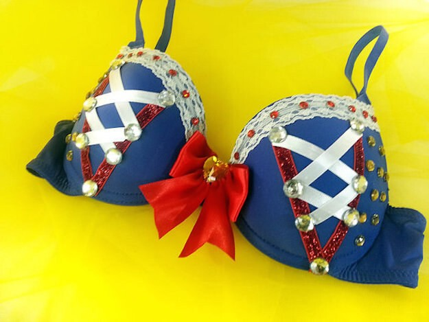 Snow White and the Seven Dwarfs Rave Bra — $45