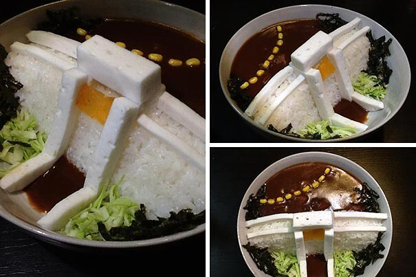 Japanese Restaurants Serve 'Dam Curry Rice' That Will Flood Your Plate