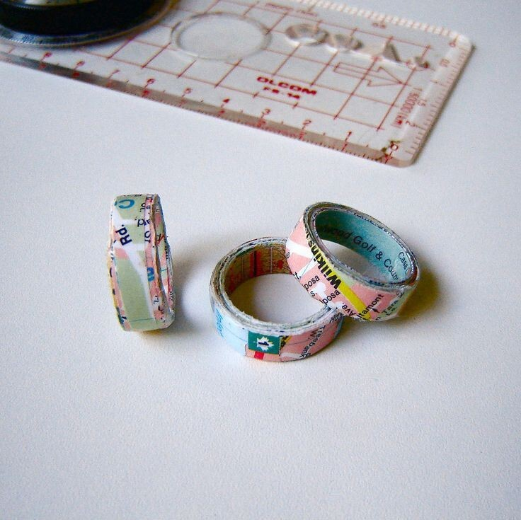 Make a one-of-a-kind ring out of a map.