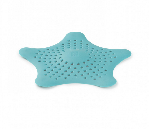 This hair catcher shaped like a starfish.
