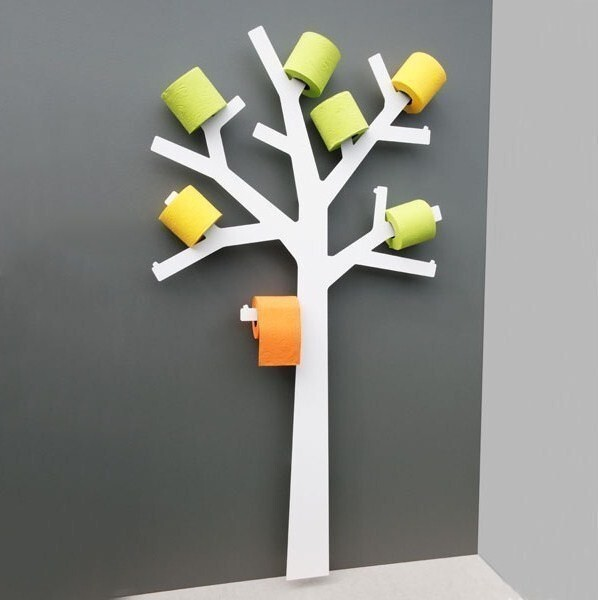 A tree to hold your toilet paper.
