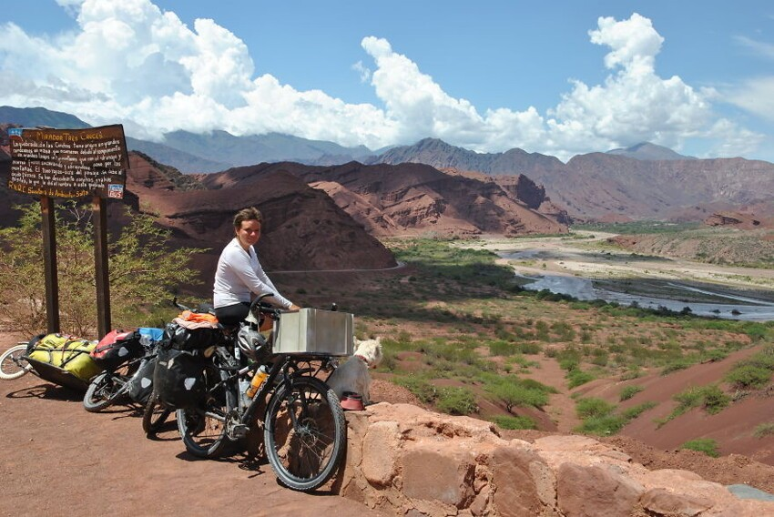 Day 135: Cycling Through Conchas Gorge In Argentina
