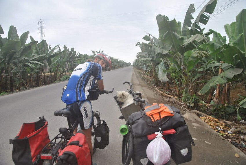 Day 402: Cycling Through Banana Plantations