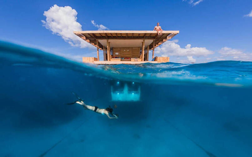 3. Floating Hotel In Zanzibar