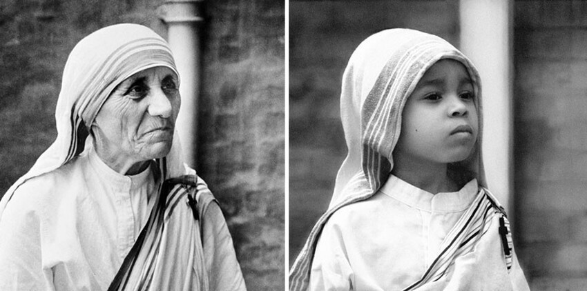 Lily As Mother Teresa