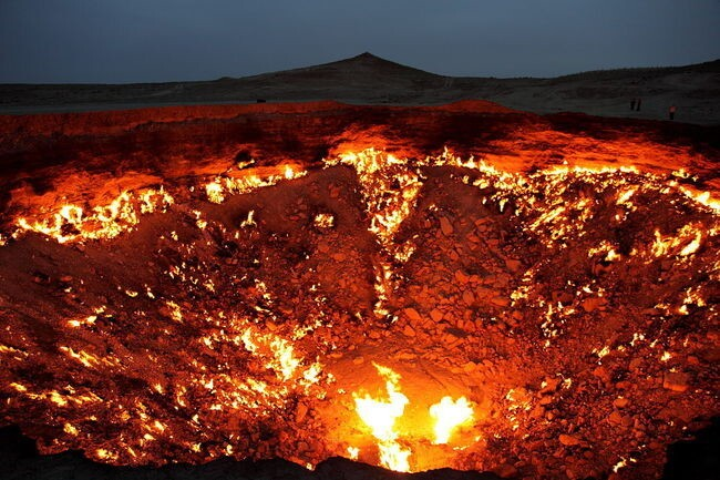 """Door to Hell,"" Turkmenistan"