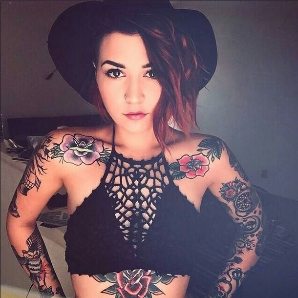 16 Beautiful Women With Equally Beautiful Tattoos