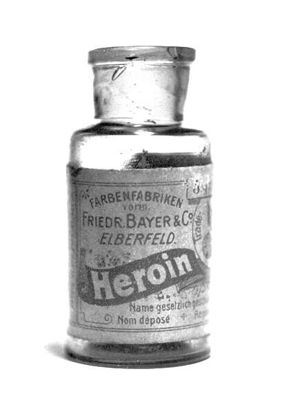 16. Medical heroin, developed and sold by Bayer in the 1890s.