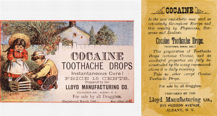 17. The cure that may have caused never-ending toothaches. Circa 1885.