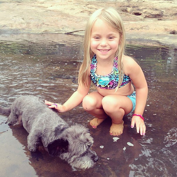 Nicole's daughter Paisley also tries to make Chester's days as joyful as possible