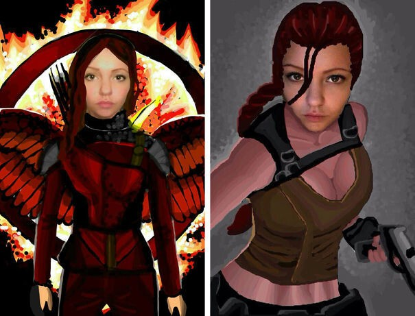 Hunger Games & Tomb Raider