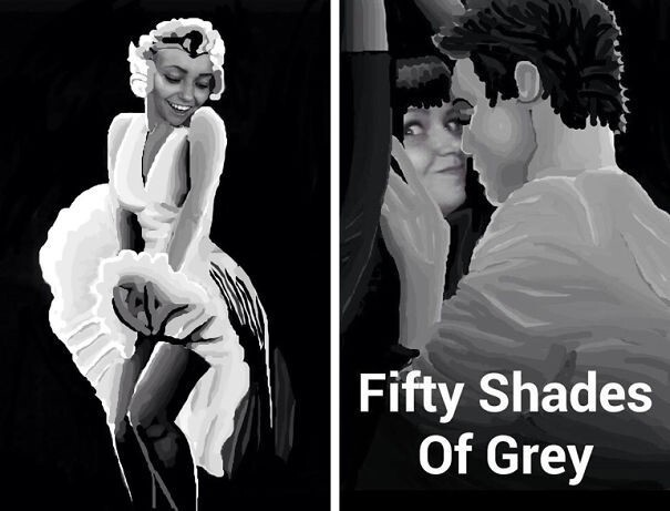 Marilyn Monroe & Fifty Shades Of Grey
