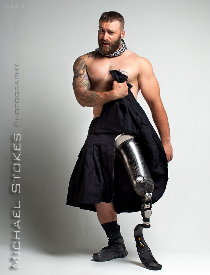 Wounded Veterans Show They're Confident Enough To Be Hot Models