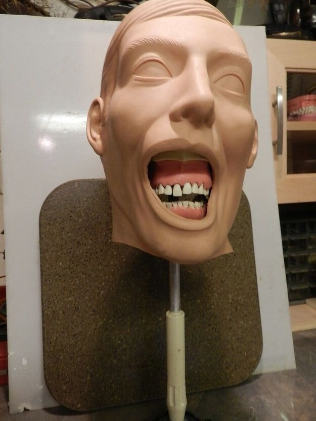 Of course, it's important to make sure all possible dentistry situations have a mannequin to suit.