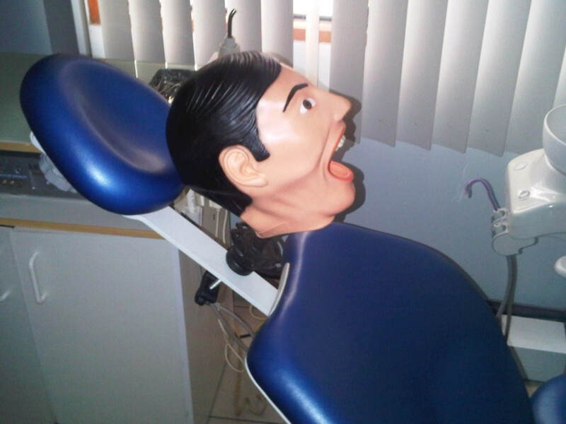 This Is What Dental Training Mannequins Look Like And They're Horrific