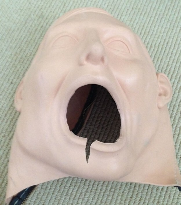 A quick google of dental training equipment renders some pretty goddamn horrific results.