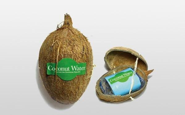 10. Unique Coconut Water Packaging Style