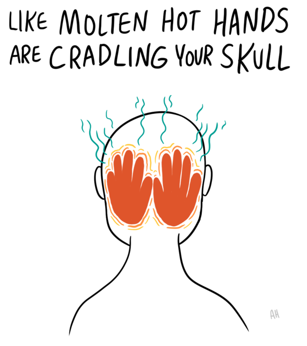 These Illustrations Show What It Feels Like To Have A Migraine