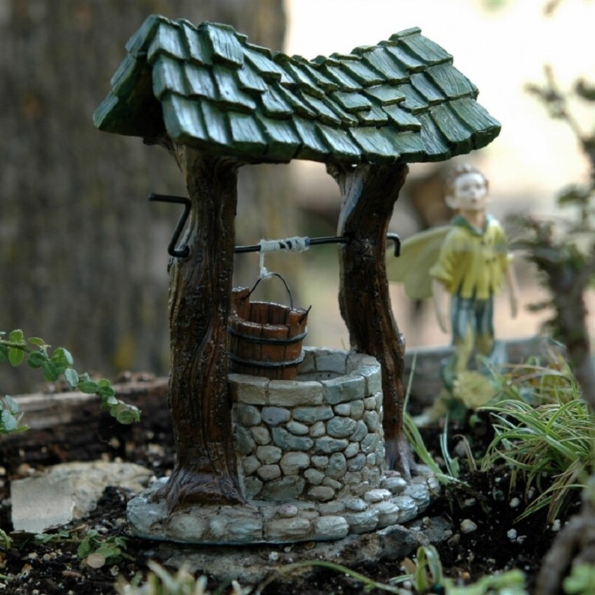 8. Fairy Garden Wishing Well