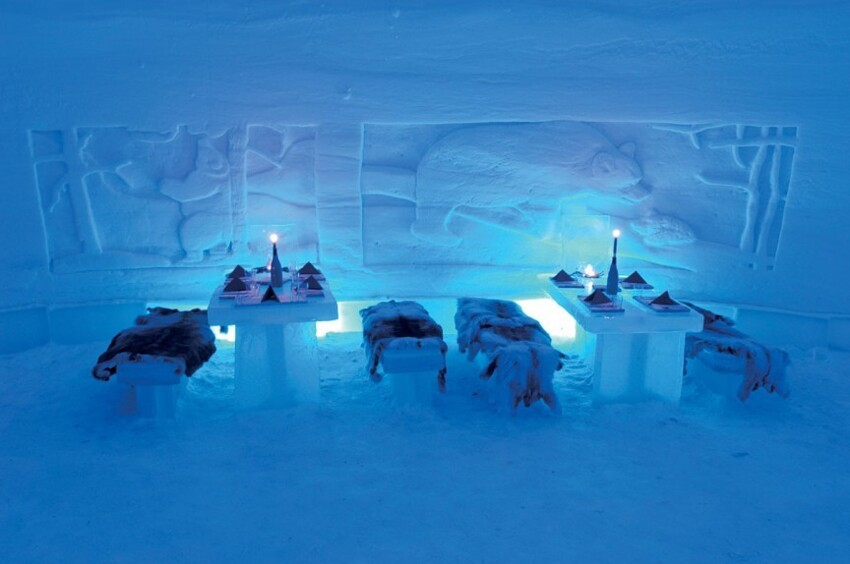 10. Lainio Snow Village