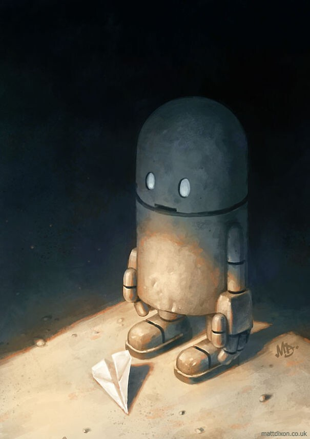 My Lonely Robots Experiencing The Quiet Wonder Of The World