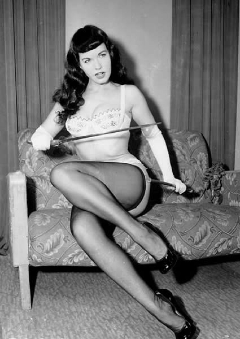 9. January 1955 – Bettie Page