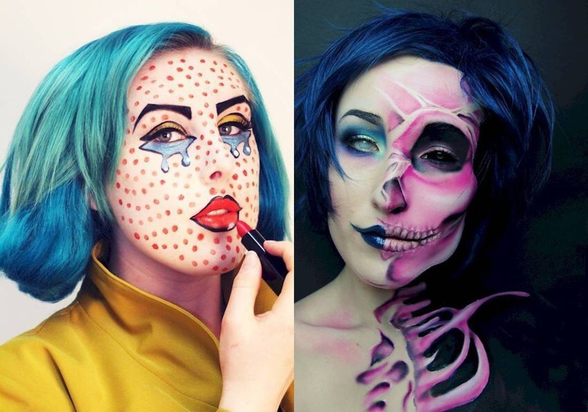 These 13 Clever Makeup Illusions Will Give You The Perfect Disguise For Halloween